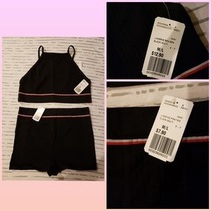 New Forever 21 hot pants lounge set